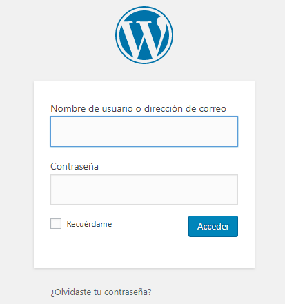 loop infinito en wp-admin wordpress