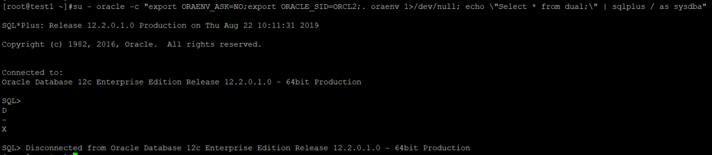 scripts Oracle con oraenv gpsos